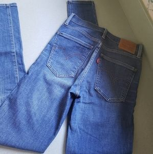 Levi's Mile High Skinny Jean 25